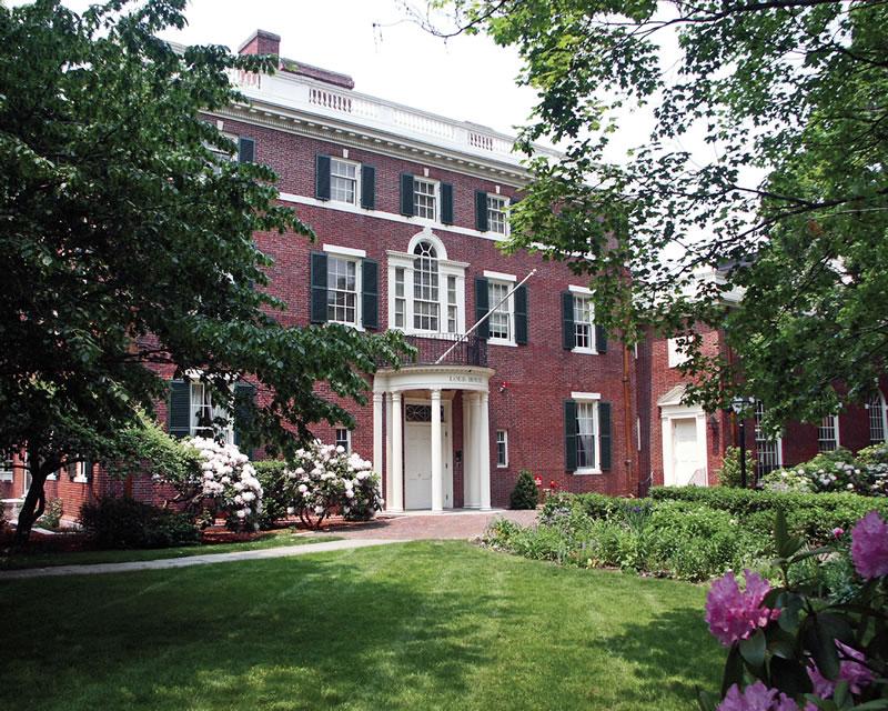institutional-harvard-loeb-hall-exterior