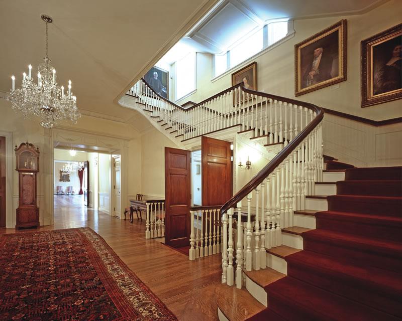 institutional-harvard-loeb-hall-stairs